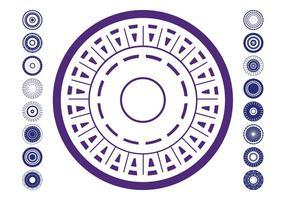 Abstract Circles Pack