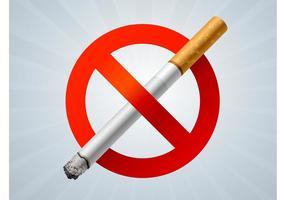 Geen roken teken grafieken