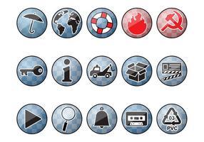 Shiny Round Icons