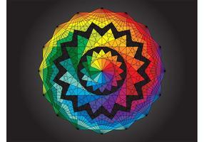 Geometrische Regenbogen-Entwurf