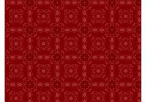 Retro Floral Pattern Wallpaper