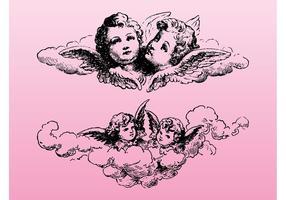 Graphiques vintage cupids