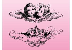 Vintage Cupido Grafiek