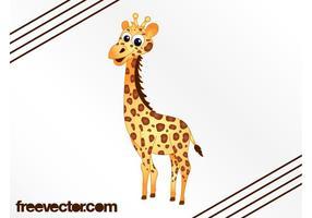 Bande dessinée de girafe