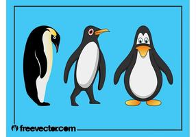 Pinguine Grafik Set