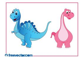 Cartoon Dinosaures