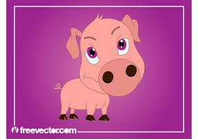 Cartoon Pig Graphics