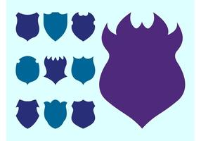 Shield Silhouettes Set