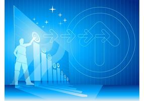 Futuristic Business Background