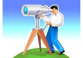 Man-with-telescope-graphics