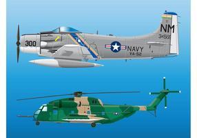 Gráficos de aviones militares
