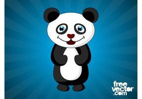 Happy Cartoon Panda