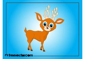 Baby Deer Cartoon