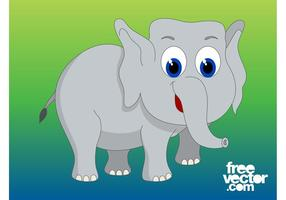 Cartoon Elephant Graphics