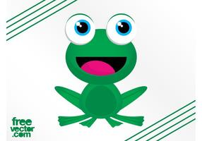 Happy Frog Character