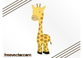 Cartoon Giraffe Image