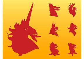 Heraldic Animals Graphics