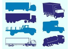 Trucks Silhouettes Graphics