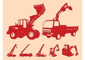 Construction Vehicles Graphics