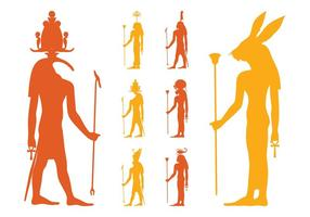 Egyptian Gods Set
