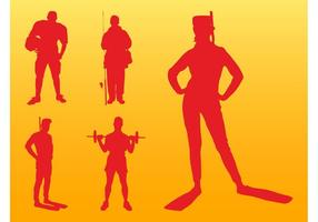 Sport Silhouettes Graphics