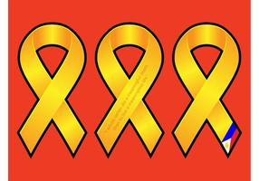 Golden Ribbons Graphics
