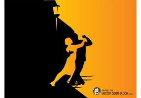 Tango dansare grafik