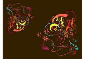 Blumenhintergrundbild