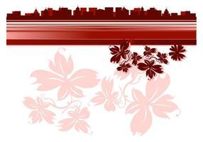Floral Cityscape Graphics