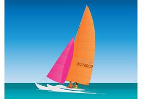 Sailing Couple Graphics