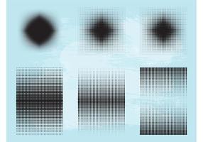 Halftone Patterns Graphics