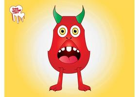 Surprised Cartoon Monster