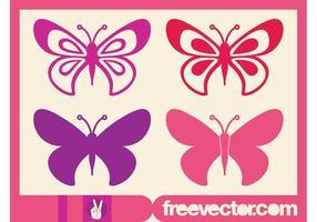 Butterflies Graphics Set