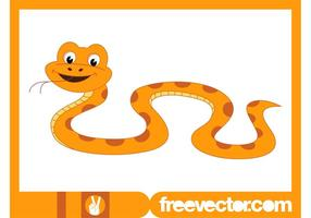 Glad Cartoon Snake