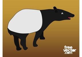 Cartoon Tapir Graphics