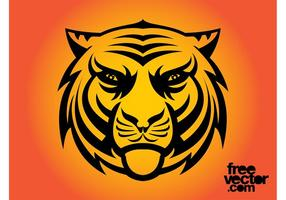Wütende Tigertätowierung
