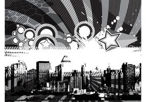 Projeto de fundo urbano grunge