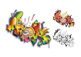 Graffiti set