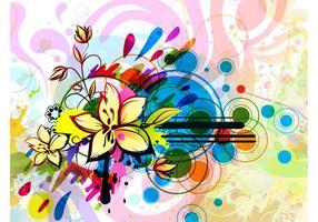 Floral Background Image Design