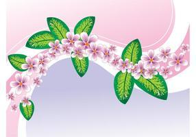 Fondo floral de la primavera