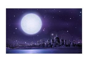 Arab City At Night
