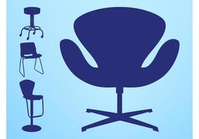 Chairs Silhouettes Pack