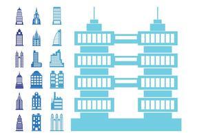 Stylized Buildings Set