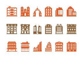 Buildings Graphics Set