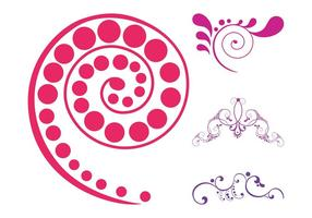 Abstract Floral Scrolls