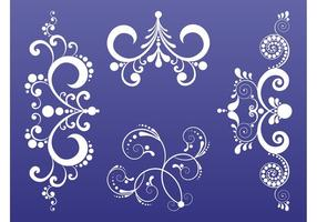 Swirling-plant-scrolls-set