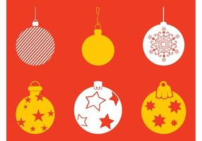 Ensemble de chandelier de Noël