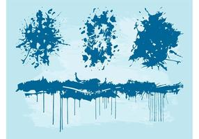 Splattered Paint Layouts