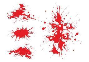 Graphiques de taches de sang