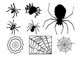 Spiders En Webs Graphics